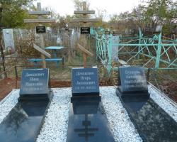 Памятник из гранита на могилу