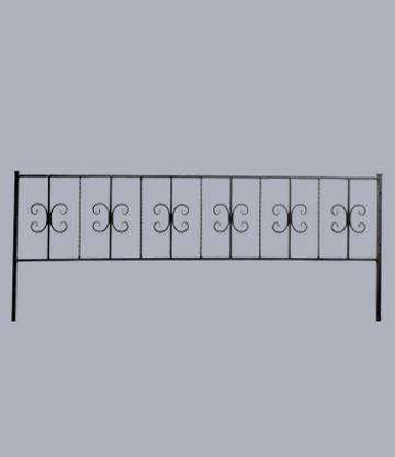 Металлическая оградка на могилу Краб