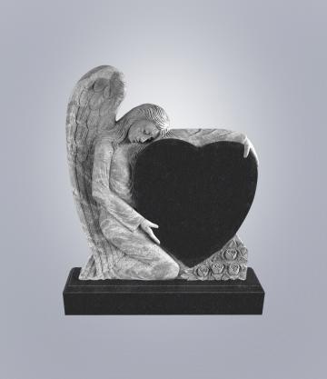 Памятник элитный из гранита 1300*1100*120 (№ 1 К 6, Габбро Черный)