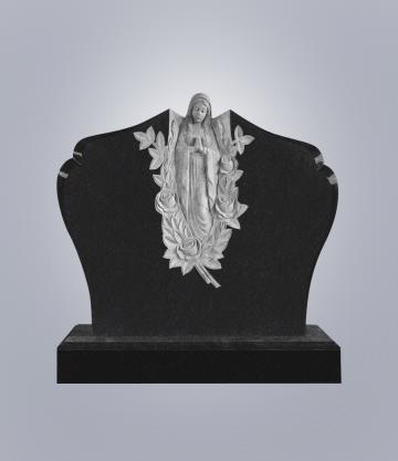 Памятник элитный из гранита 1300*1100*100 (№ 10 К 6, Габбро Черный)