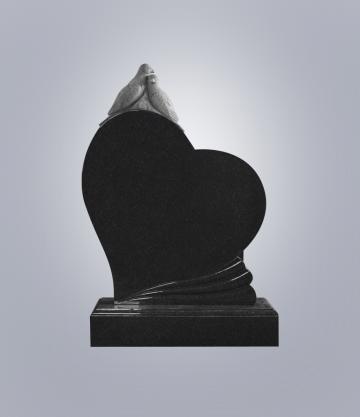 Памятник элитный из гранита 1300*1000*100 (№ 11 К 6, Габбро Черный)