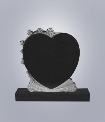 Памятник элитный из гранита 1000*900*100 (№ 13 К 6, Габбро Черный)