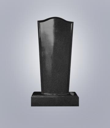 Памятник элитный из гранита 1500*700*150 (№ 19 К 6, Габбро Черный)