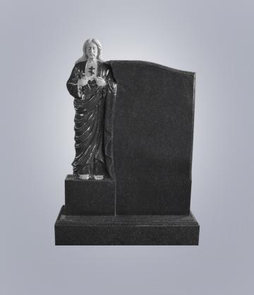 Памятник элитный из гранита 1200*1000*100 (№ 21 К 6, Габбро Черный)