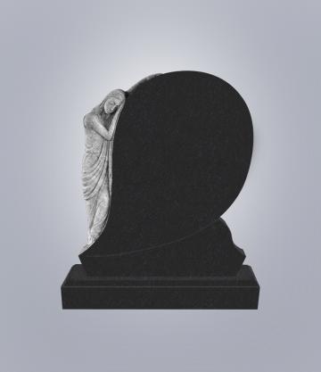 Памятник элитный из гранита 1300*1100*120 (№ 6 К 6, Габбро Черный)